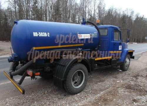 Ассенизатор ВОДОВОЗ Газ 3309 (доставка тех. воды)